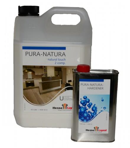 hesse pura natura 2k hydro parkettlack treppenlack naturholzeffekt hde 52 0 stumpfmatt 4 5 l. Black Bedroom Furniture Sets. Home Design Ideas