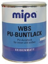 mipa wbs buntlack kupferfarbe altkupfer seidenmatt auf wasserbasis 750 ml mip634100003. Black Bedroom Furniture Sets. Home Design Ideas