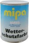 Mipa WBS Wetterschutzfarbe auf Wasserbasis, Farbton nach Wunsch ... Preis ab