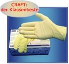 Einmal-Handschuhe p-protect CRAFT, (100 Stück im Karton)   Größe XL (9)