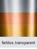 Metalllackierung farbos