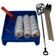 Werkzeugset für Bodenbeschichtung mit MIPA PU 250-50
