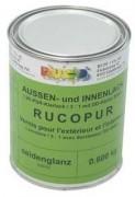 RUCOPUR 3000  2K-PUR-Emaillelack glänzend  0,8 kg Gebinde     Preisgruppe I