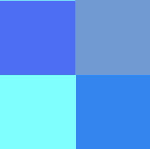 MIPA Schwimmbadfarbe Blau (verschiedene Töne) 1 Kg Gebinde