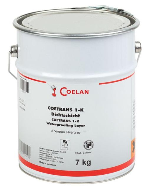 Coetrans 1 k dichtschicht silbergrau preis ab co30170 x for Wandfarbe silbergrau