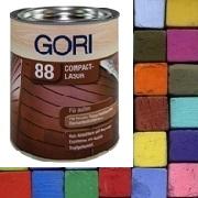 Gori 88 Holzschutzlasur Rot Grun Gelb Blau Lila Grau