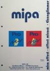 Farbtonkarte MIPA Eisenglimmer