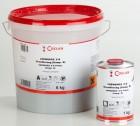 KEMCO POX (früher COEWAPOX) 2-K Grundierung silbergrau,  6 kg und 1 kg COEWAPOX Härter