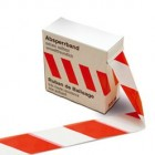 KIP 391 Absperrband rot/weiß  1 Rolle 80 mm x 500 m