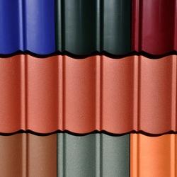 Dachbeschichtung auf Tonziegeln