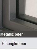 Fenster im Eisenglimmerfarbton