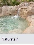 Natursteinpool Beschichtung