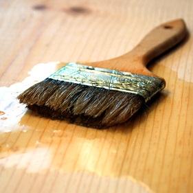 Holzboden farblos versiegeln