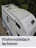 Wohnmobildach lackieren
