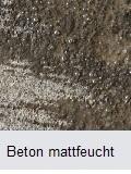 mattfeuchten Betonboden beschichten