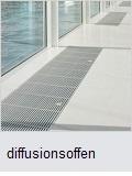 Wasserdampfdiffusionsfähige Bodenbeschichtung