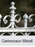 Zaun aus Eisen streichen
