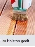 Holzboden geölt
