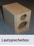 Lautsprecherbox lackieren