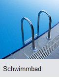 Schwimmbad streichen