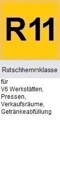 Rutschhemmklasse R11