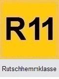 Boden rutschhemmend Rutschhemmklasse R11