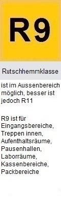 Rutschhemmklasse R9