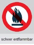 Bodenbeschichtung schwer entflammbar B1