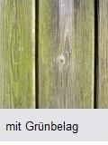 Holzterasse mit Grünbelag