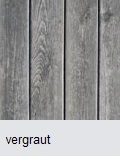 Holzterasse vergraut